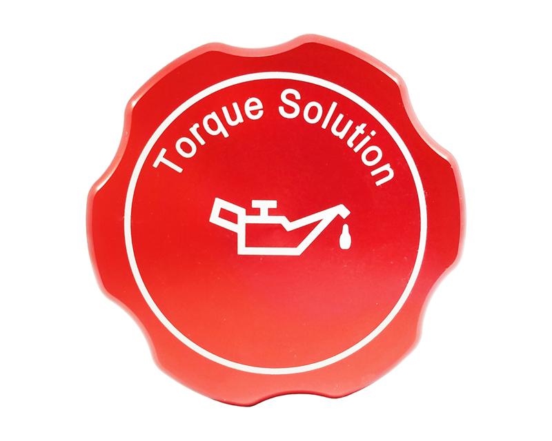 Torque Solution Red Billet Aluminum Oil Cap Subaru WRX 02-17