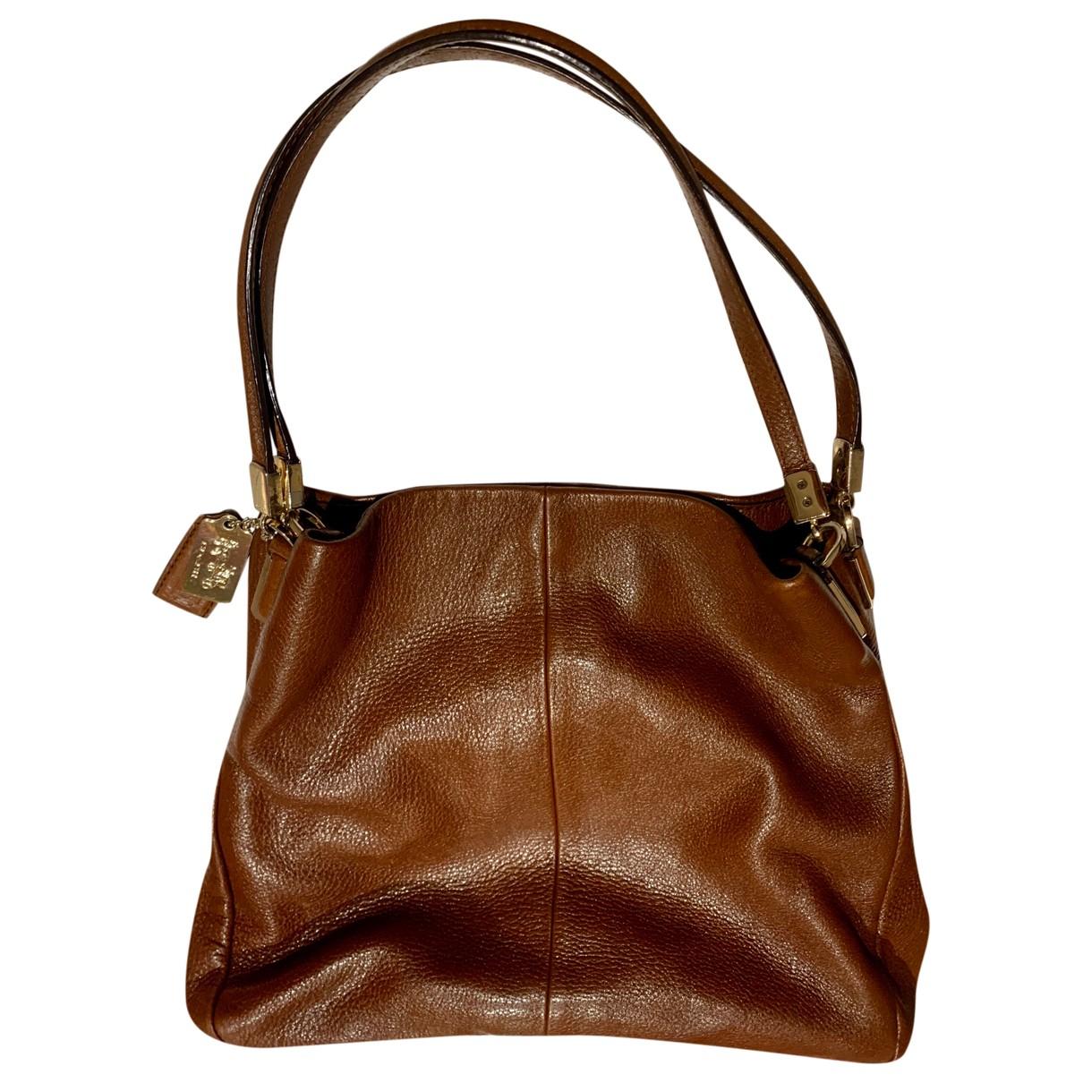 Coach \N Brown Leather handbag for Women \N