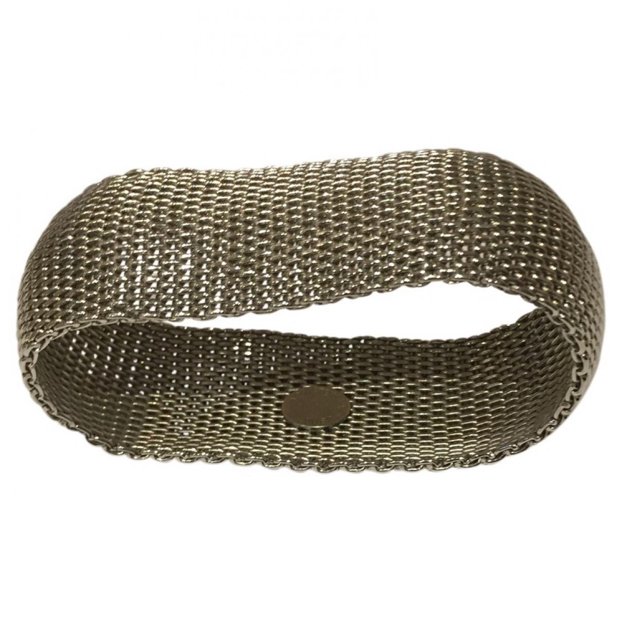 Appartement A Louer - Bracelet   pour femme en acier - argente