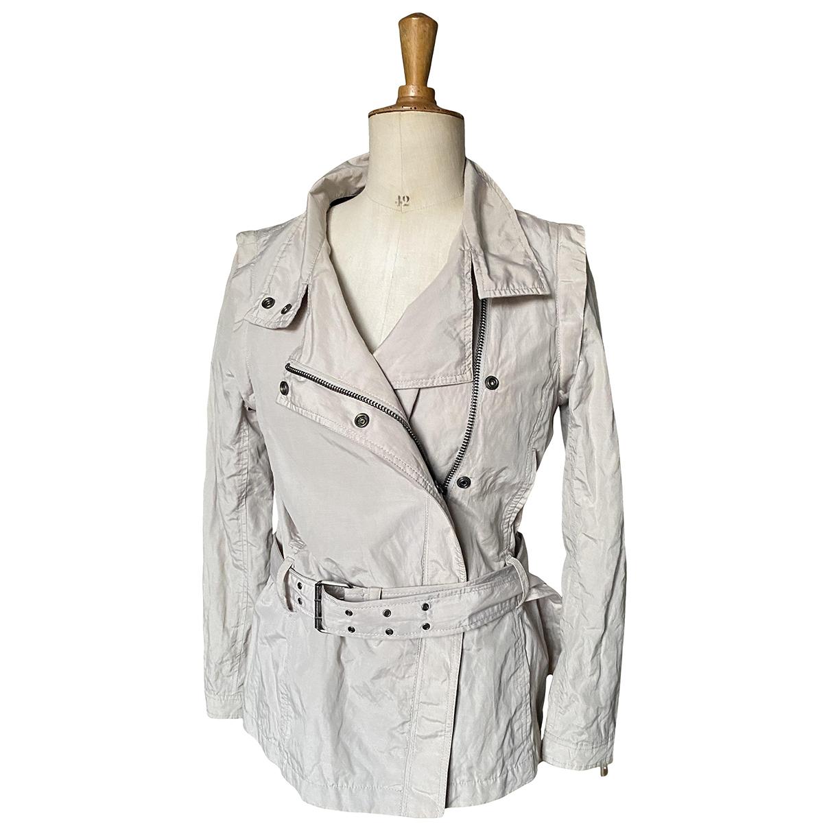 Calvin Klein N Beige Cotton jacket for Women S International