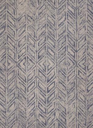 350503 9' x 12' Wool Blue Area