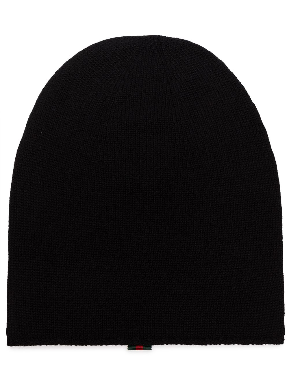 Wool Beanie With Web