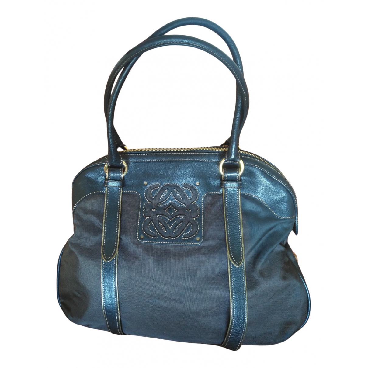 Loewe \N Burgundy Cloth Travel bag for Women \N