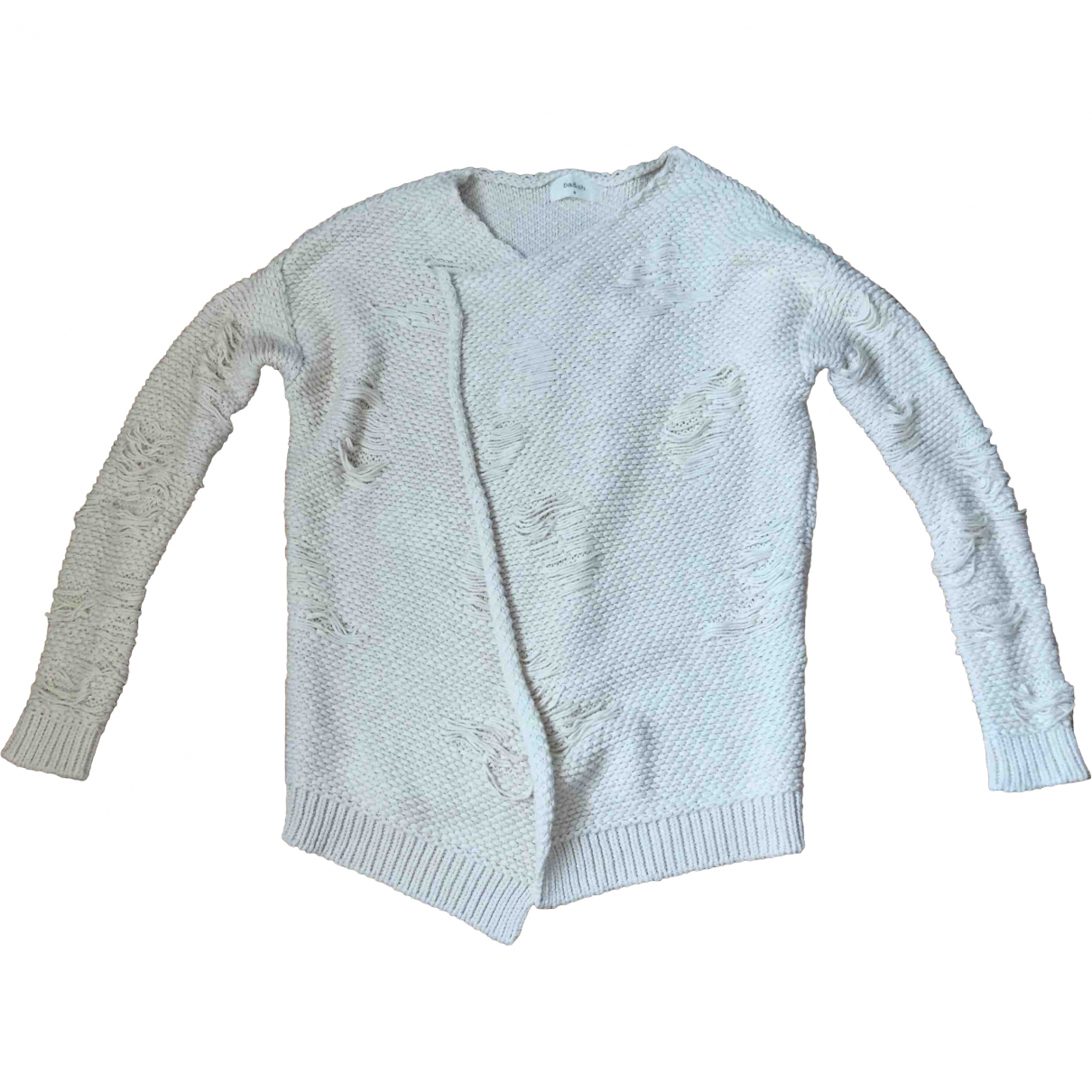 Ba&sh \N Pullover in  Ecru Baumwolle