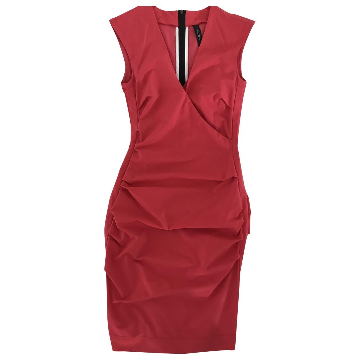 Marc Cain \N Kleid in  Rot Baumwolle - Elasthan