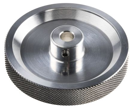 Baumer Encoder Wheel Circumference 20cm, 7mm Wheel Bore Aluminium