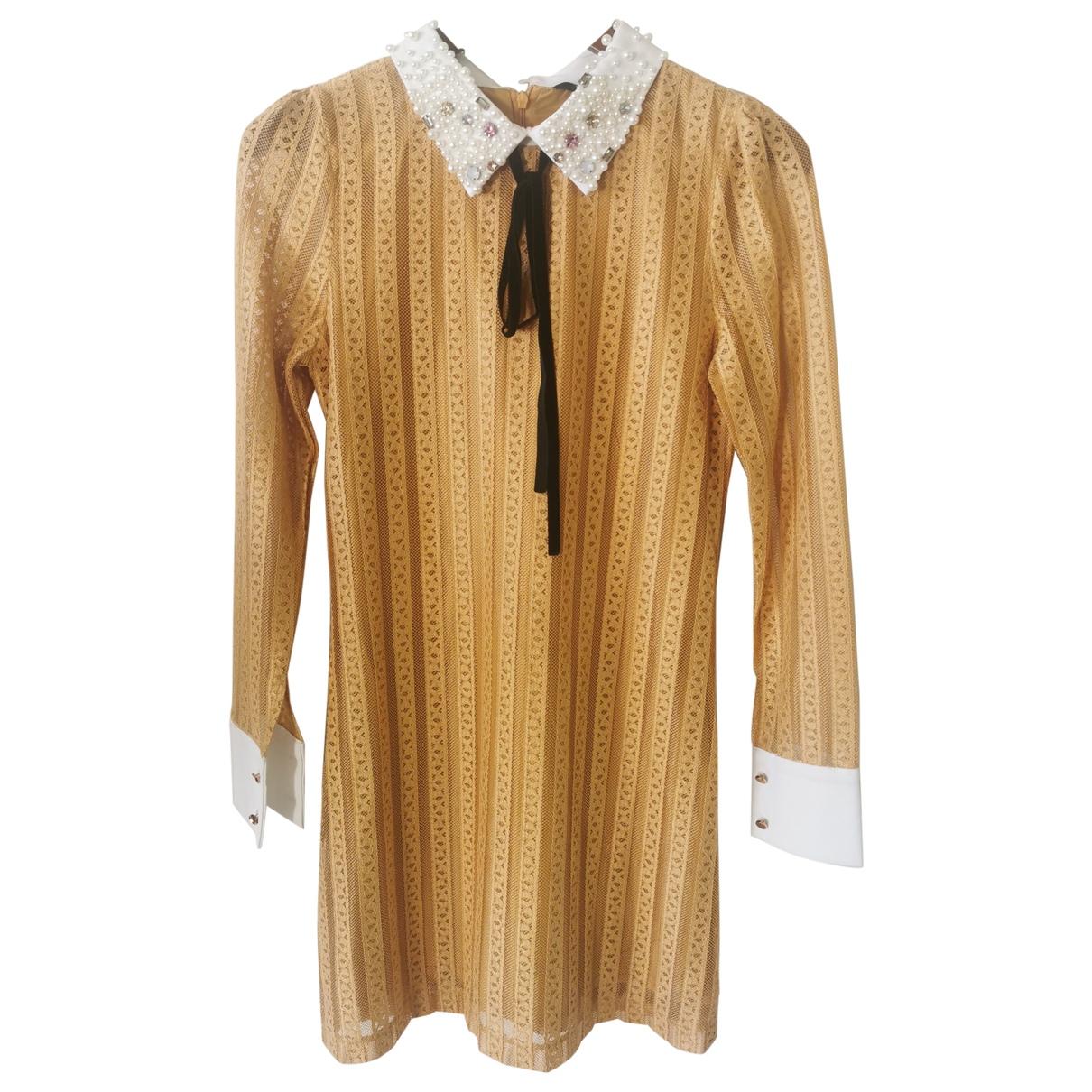 Sister Jane \N Kleid in  Gelb Polyester