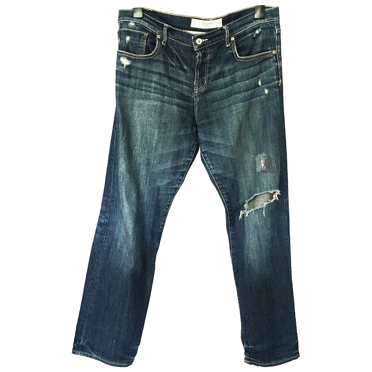 Abercrombie & Fitch N Blue Cotton - elasthane Jeans for Women 29 US