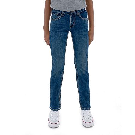 Levi's Performance Big Boys 511 Stretch Slim Fit Jean, 18 , Blue
