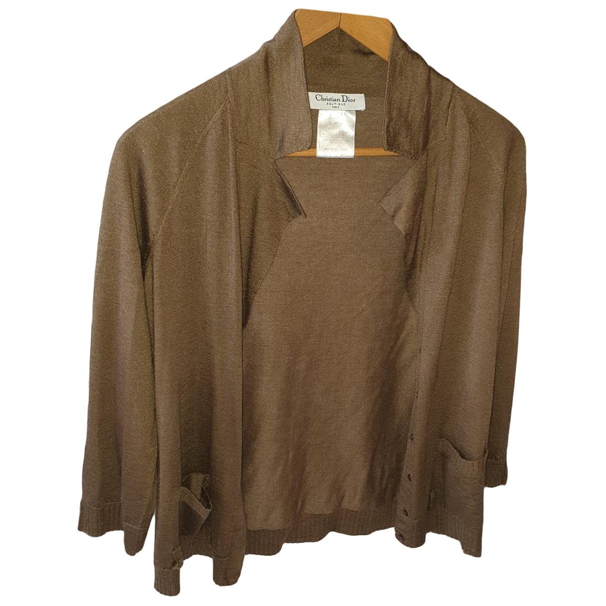 Dior \N Camel Cashmere Knitwear for Women 40 FR