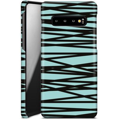 Samsung Galaxy S10 Smartphone Huelle - Rendezvous Stripe von Khristian Howell