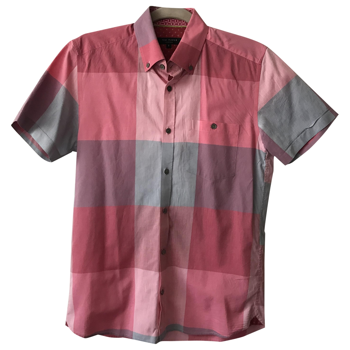 Ted Baker \N Pink Cotton Shirts for Men S International