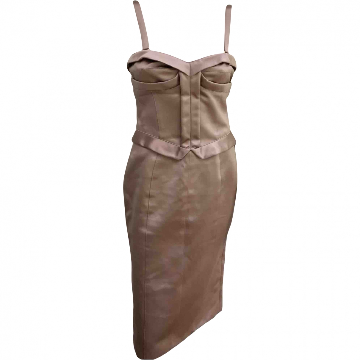 Burberry \N Pink Silk dress for Women 40 IT
