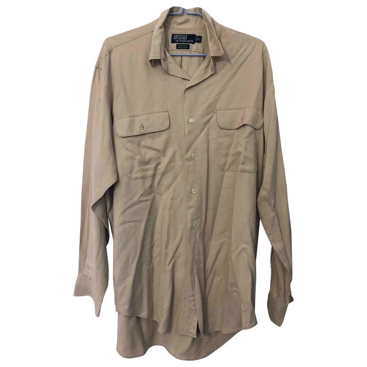 Polo Ralph Lauren \N Hemden in  Beige Baumwolle