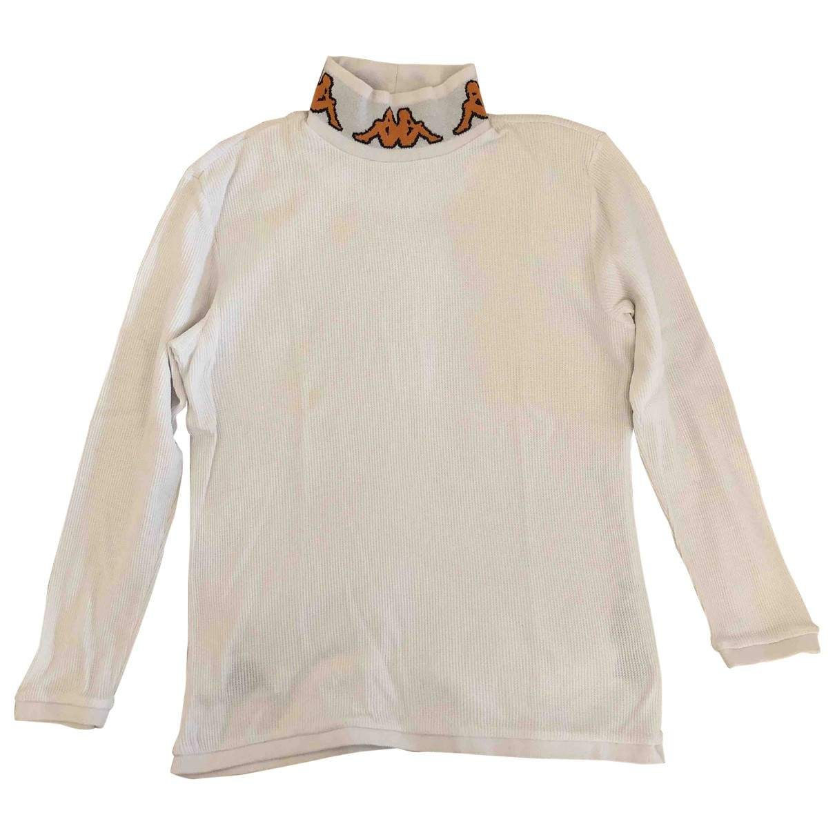 Kappa Kontroll \N White Cotton Knitwear & Sweatshirts for Men M International