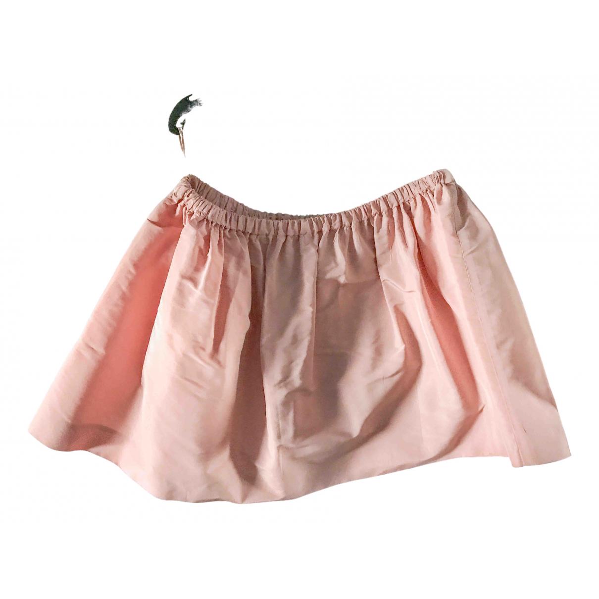 Miu Miu \N Rocke in  Rosa Polyester