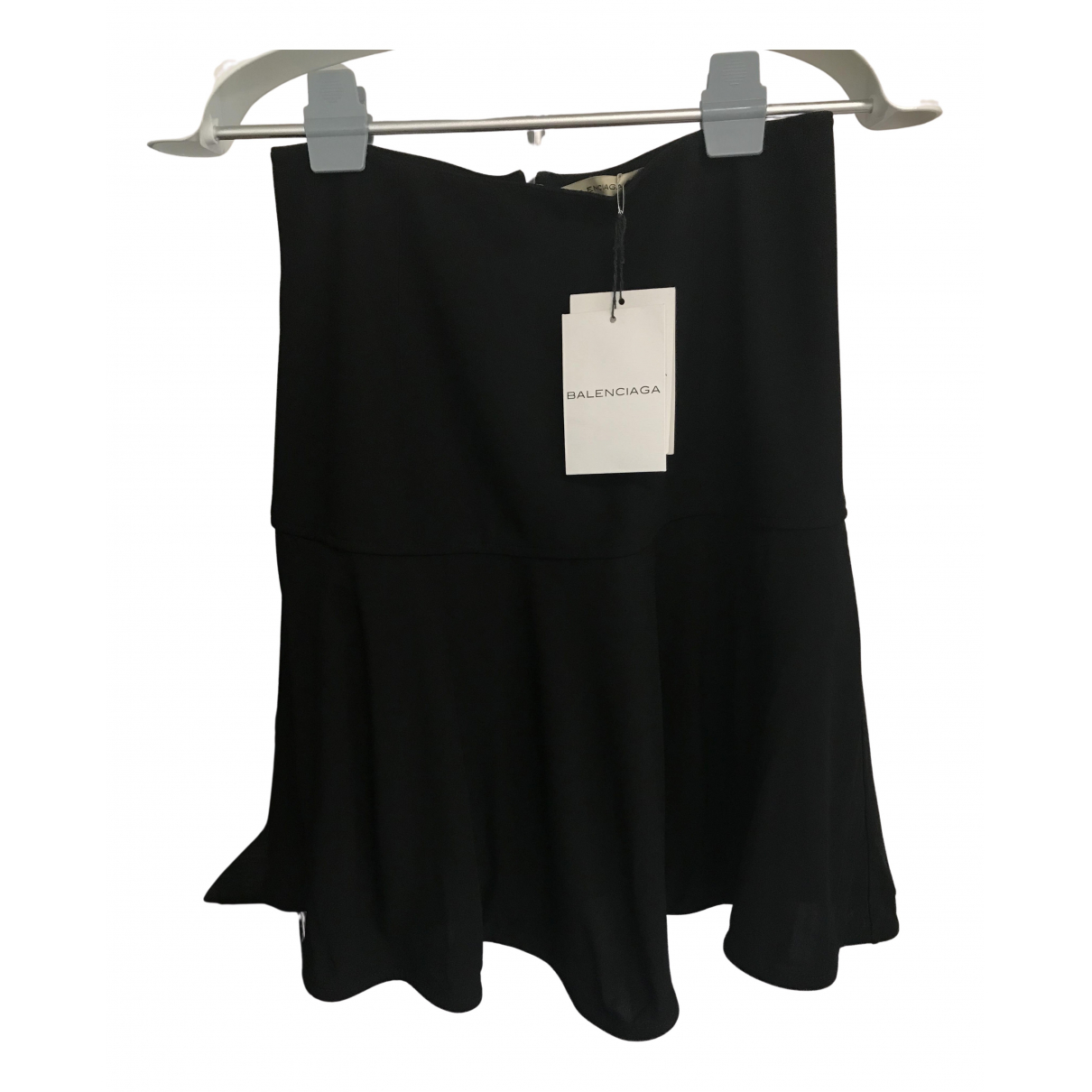 Balenciaga \N Rocke in  Schwarz Polyester
