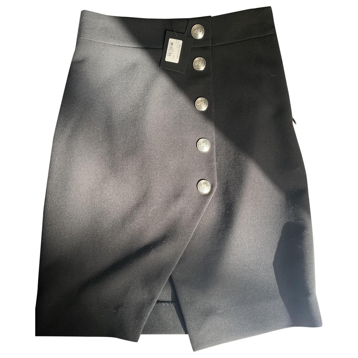 Maje Fall Winter 2019 Black skirt for Women 36 FR