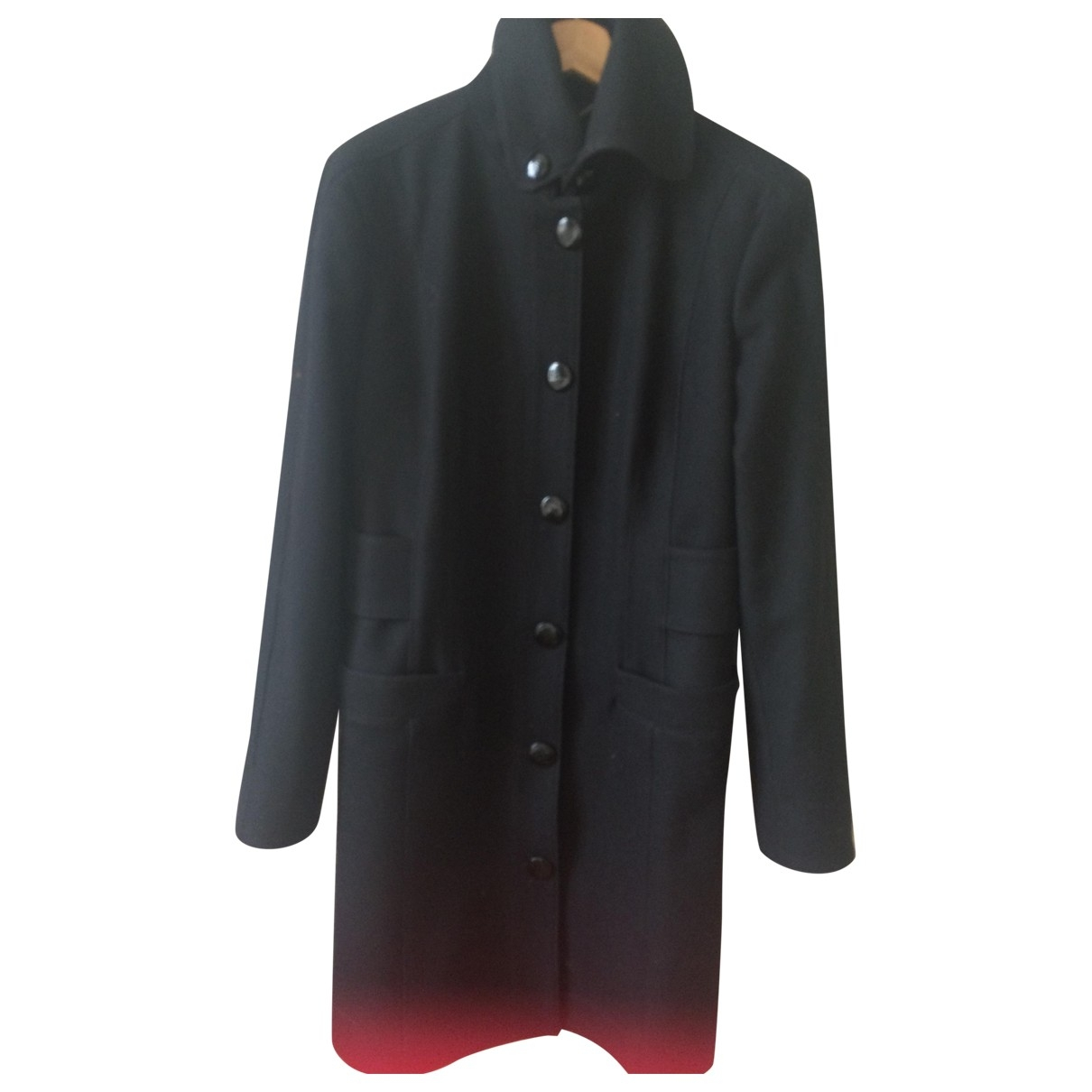 Versace Jeans \N Maentel in  Schwarz Wolle