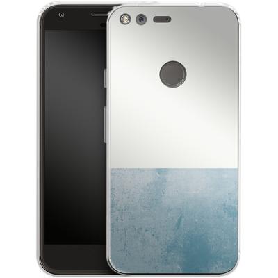 Google Pixel Silikon Handyhuelle - Colour Block Blue von caseable Designs
