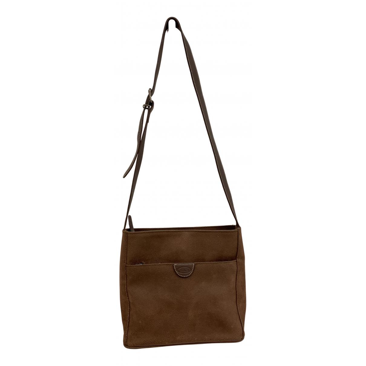 Brics \N Handtasche in  Braun Polyester