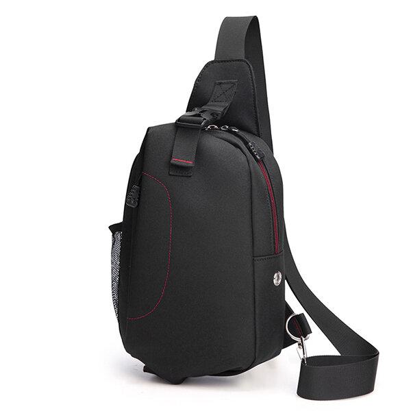 Men Canvas Casual Outdoor Sport Multi-functional Shoulder Crossbody Bag