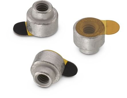 Wurth Elektronik 9774080243R, 8mm High Steel SMT Round Spacer for M2 Screw (400)