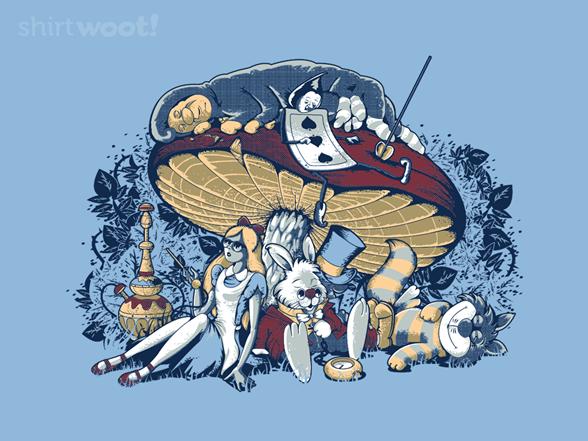 Stoned In Wonderland T Shirt