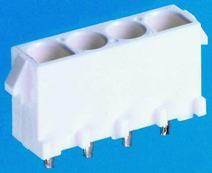 TE Connectivity , Universal MATE-N-LOK, 3 Way, 1 Row, Straight PCB Header (5)