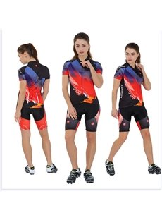 Women's Short Sleeve Cycling Jersey Jacket Cycling Shirt Quick Dry