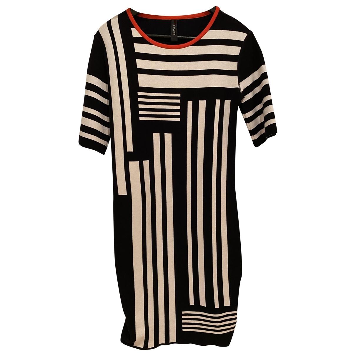 Marc Cain \N Kleid in  Schwarz Baumwolle - Elasthan