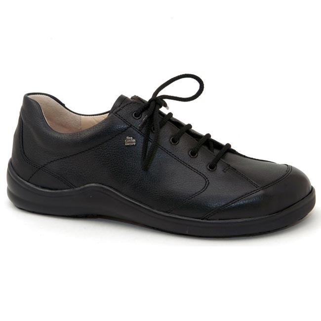 Finn Comfort Cusco Black Leather Soft Footbed 41
