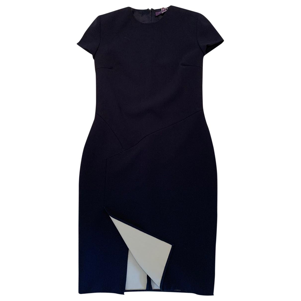 Ralph Lauren Purple Label \N Blue Wool dress for Women 4 US