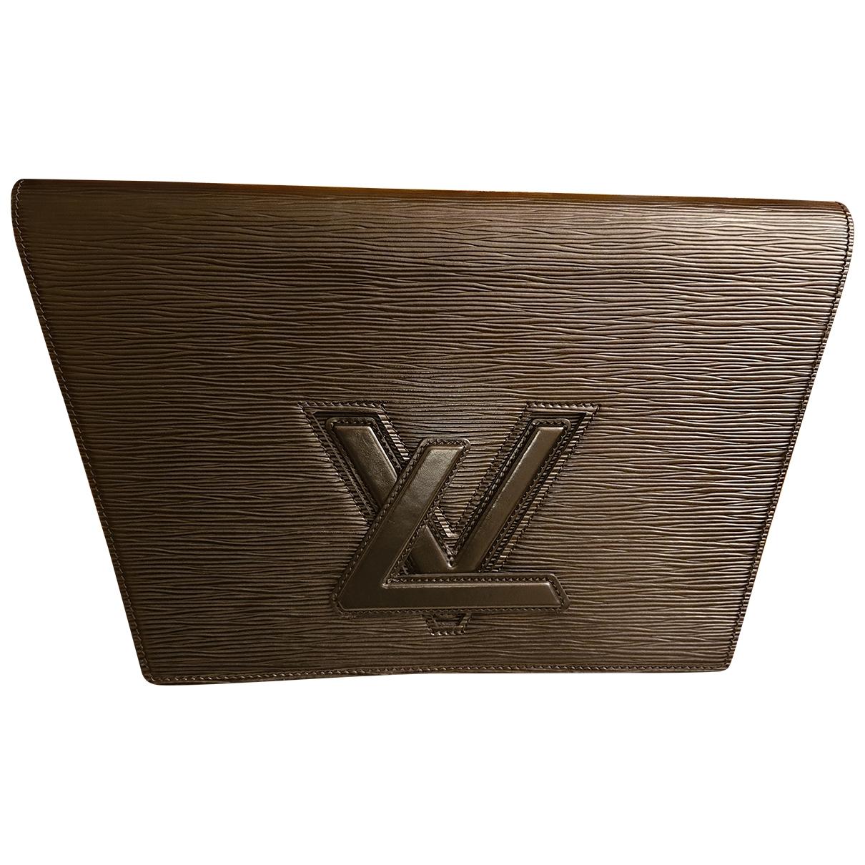 Pochette Trapeze de Cuero Louis Vuitton