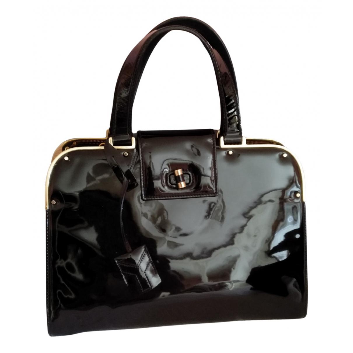 Yves Saint Laurent N Black Patent leather handbag for Women N