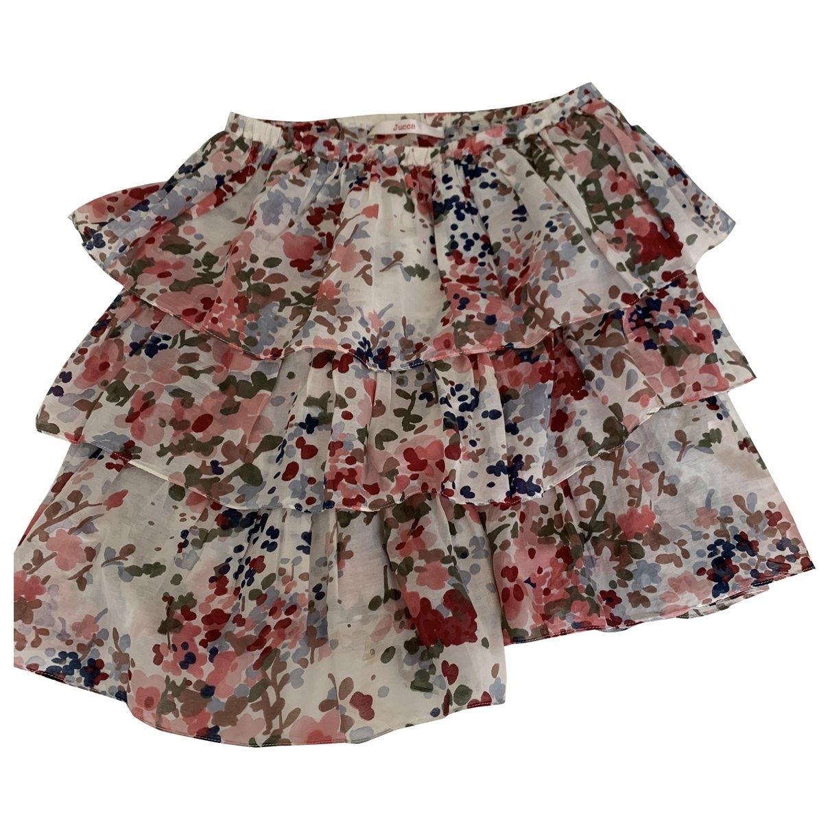 Jucca \N Multicolour Cotton skirt for Women 42 IT