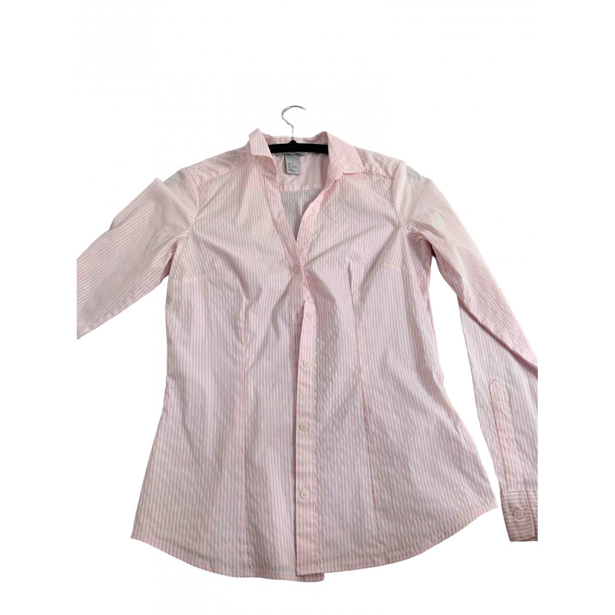 H&m Conscious Exclusive - Top   pour femme en coton - rose