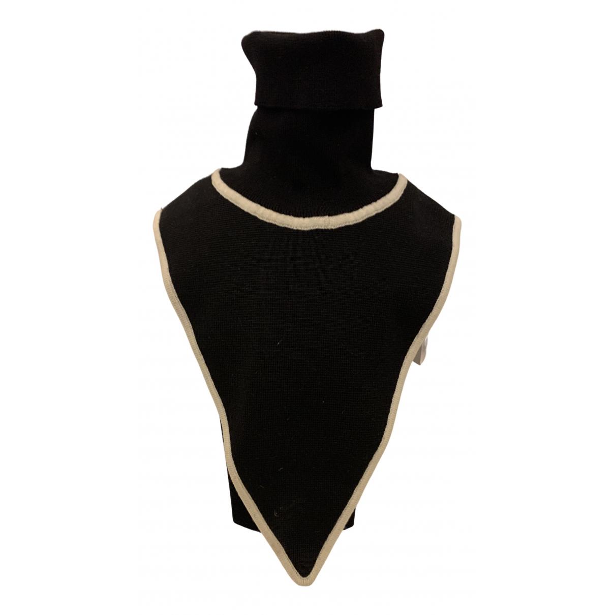 Salvatore Ferragamo N Black Wool  top for Women S International