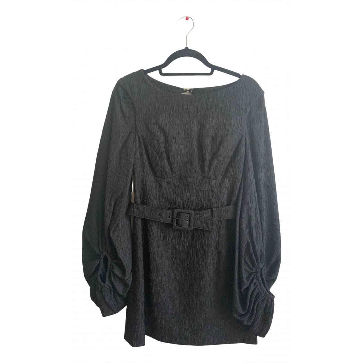 Rebecca Vallance \N Kleid in  Schwarz Polyester