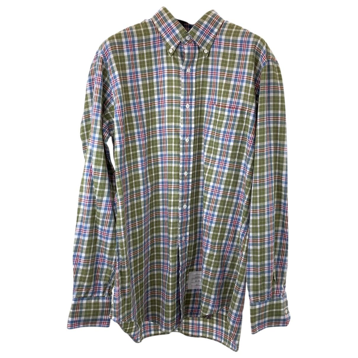 Thom Browne \N T-Shirts in  Braun Baumwolle