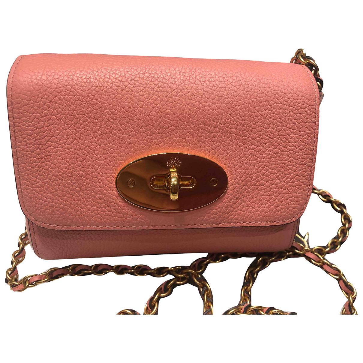 Mulberry - Sac a main Lily pour femme en cuir - rose