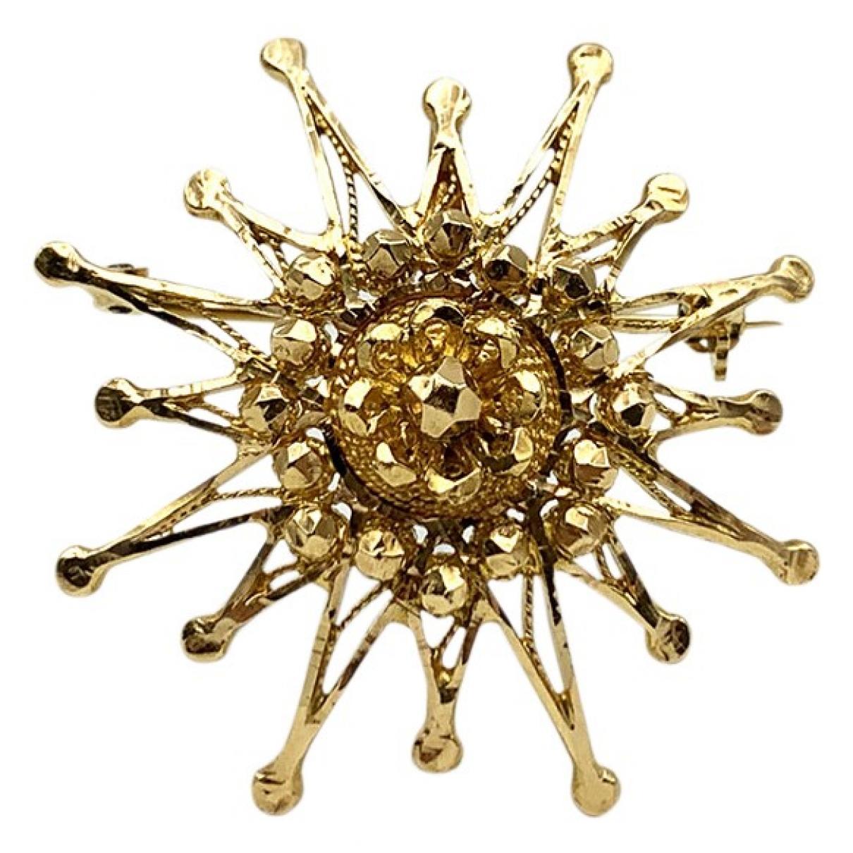 Broche de Oro amarillo Non Signe / Unsigned