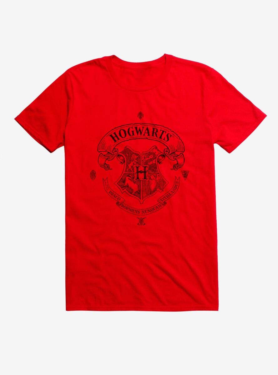 Harry Potter Hogwarts Logo Banner T-Shirt