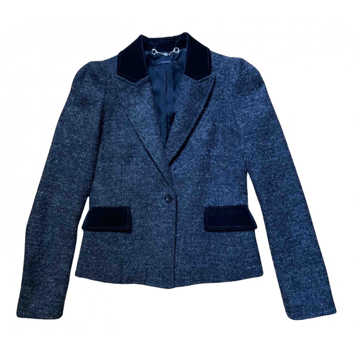 Gucci - Veste   pour femme en laine - marron
