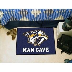 NHL - Nashville Predators Man Cave Starter Rug 19