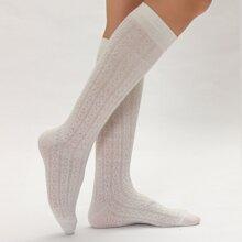 Hollow Out Geometric Socks