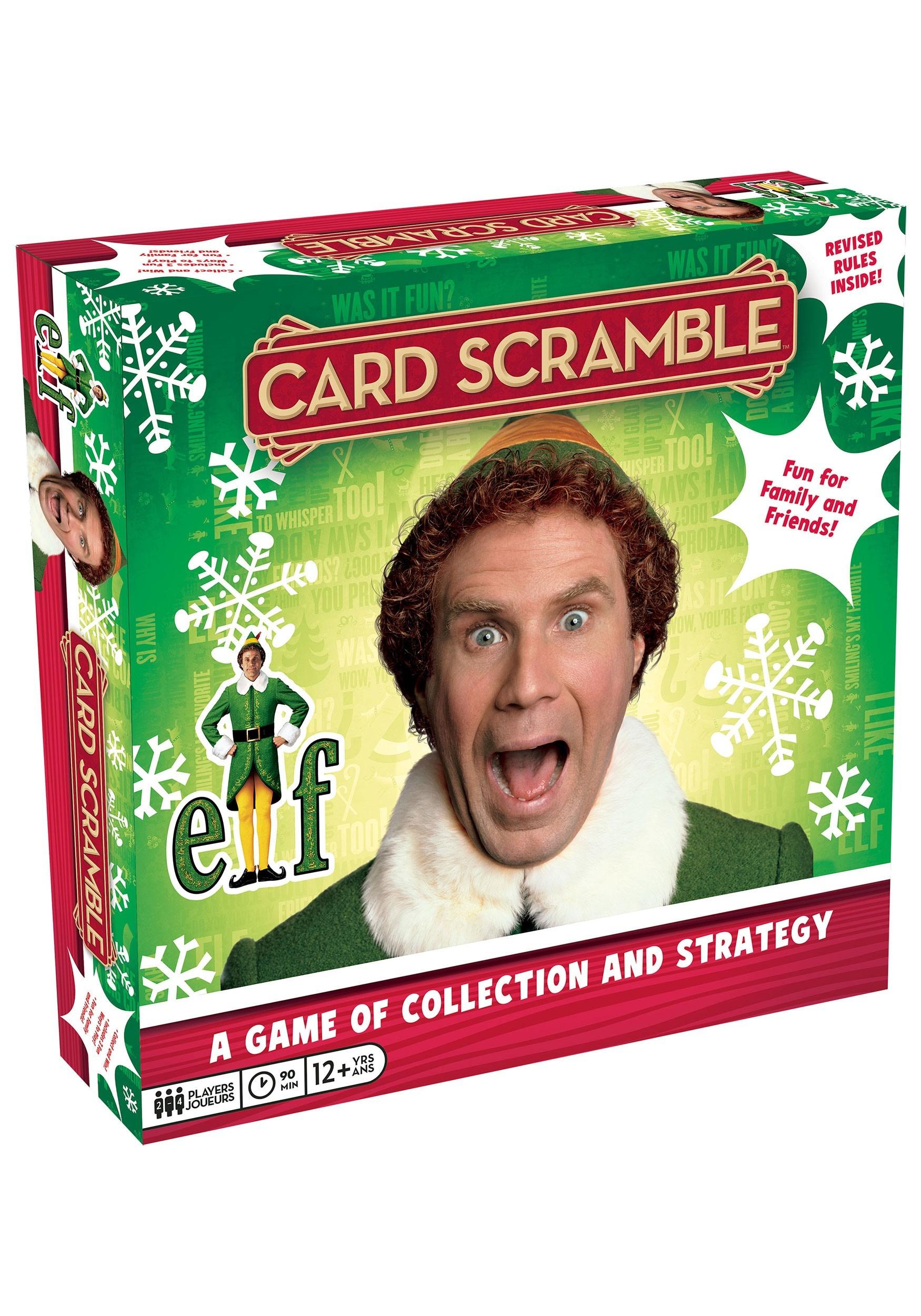 Buddy the Elf Scramble Card Game