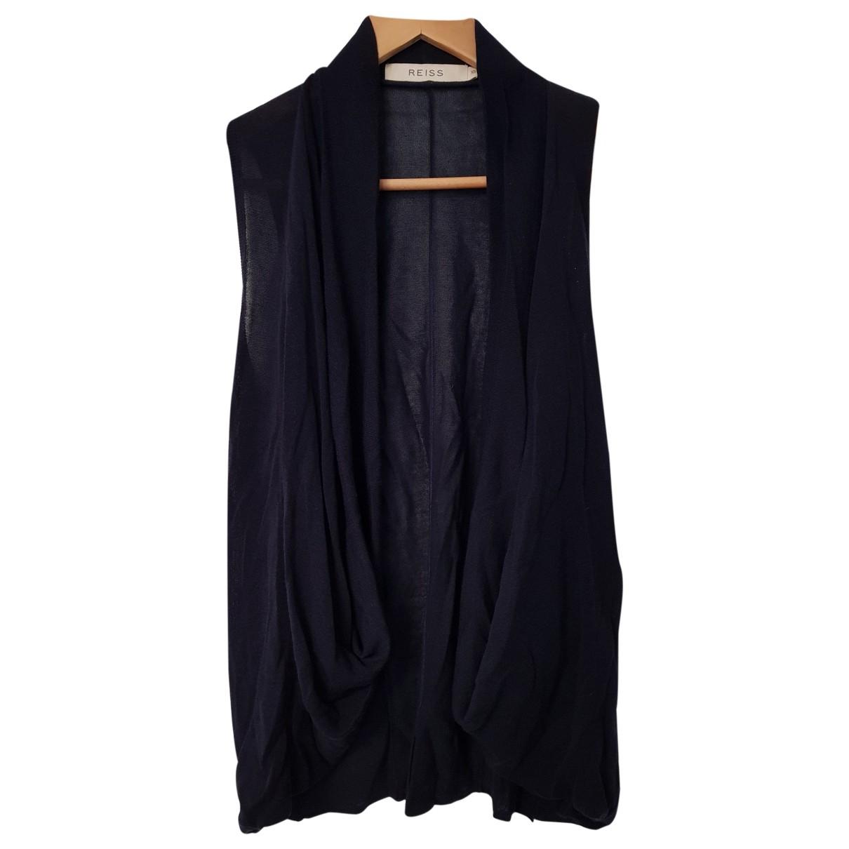 Reiss \N Pullover in  Blau Baumwolle