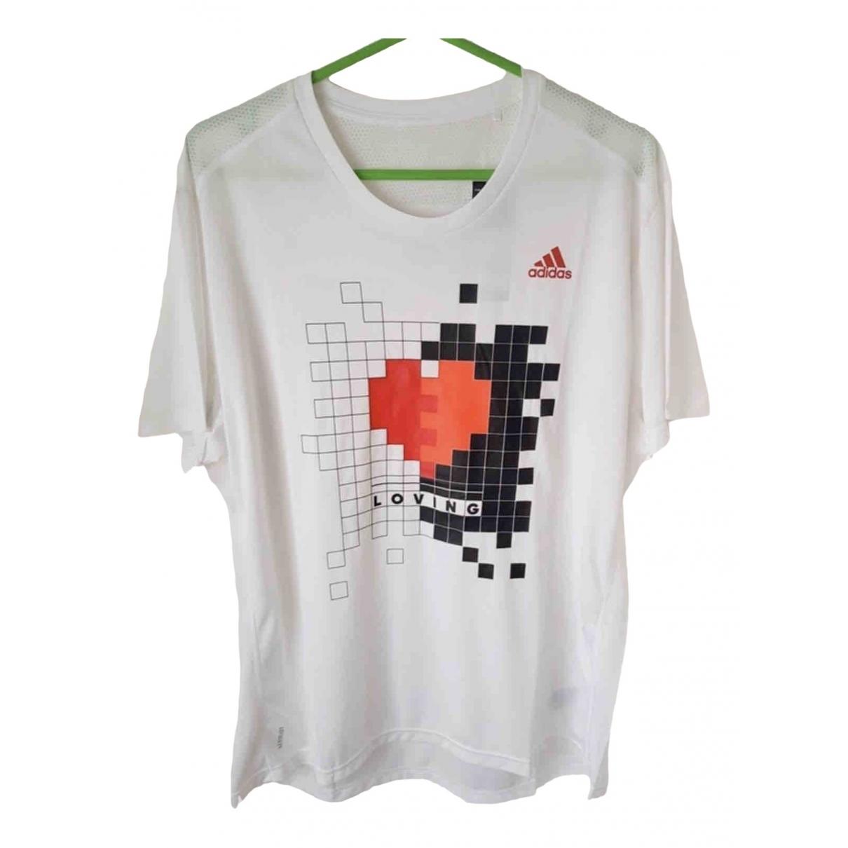 Adidas \N White T-shirts for Men XL International