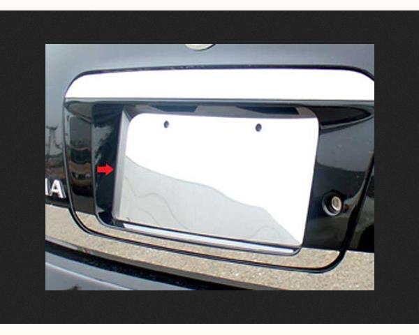 Quality Automotive Accessories 1-Piece License Plate Bezel Nissan Altima 2004